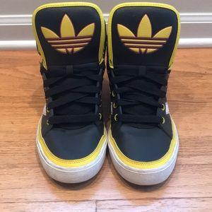 Adidas originals high top shoes